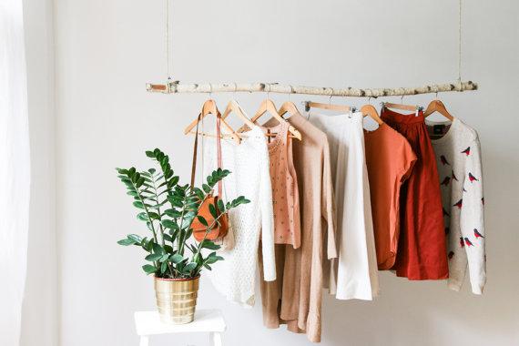 Hanging Branch Clothing Rack – Giftsy Handmade